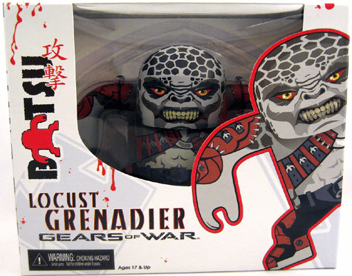 NECA Gears of War Batsu Locust Grenadier Figure