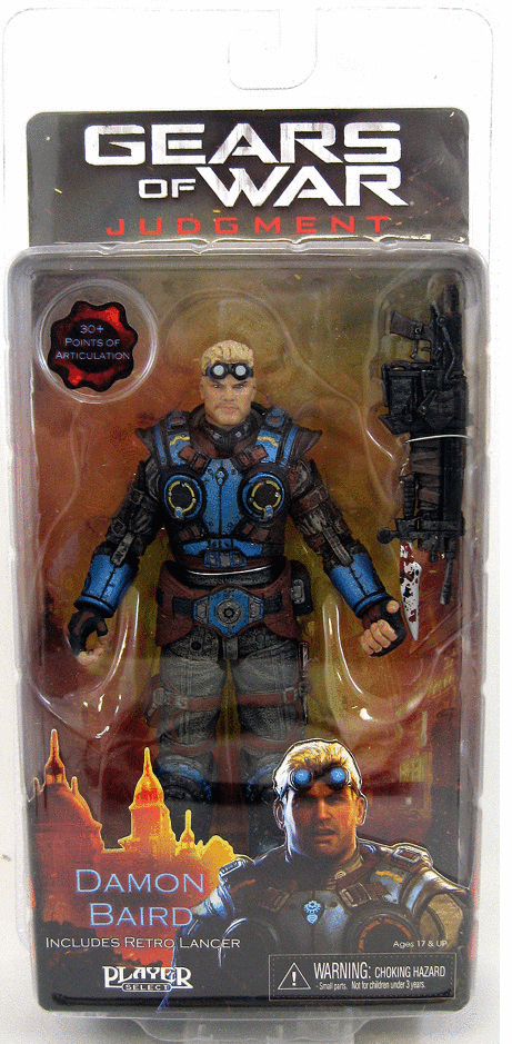 NECA Gears of War Judgment Damon Baird Figure