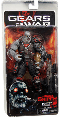 NECA Gears of War Locust Sniper Figure