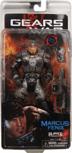 NECA Gears of War Series 2 Marcus Fenix 2 Action Figure