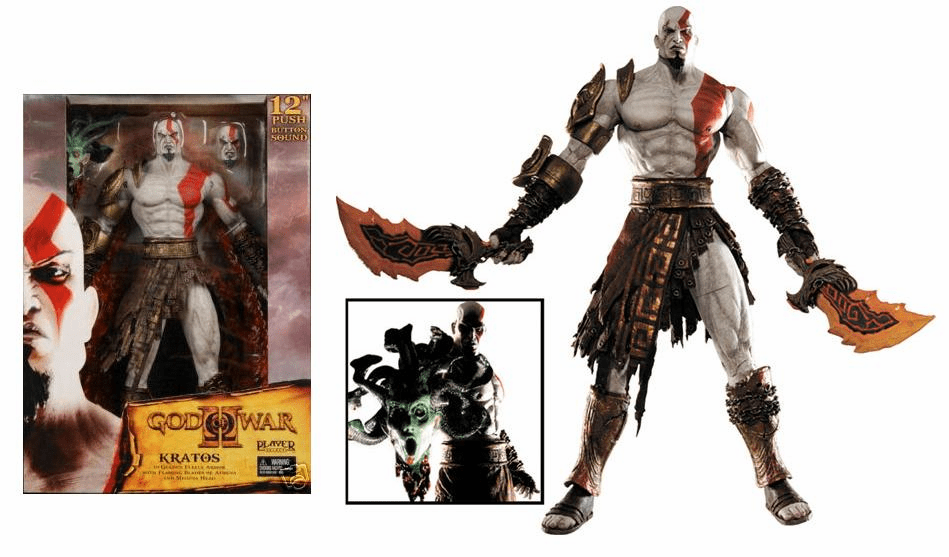 NECA God of War Kratos Sound Action Figure