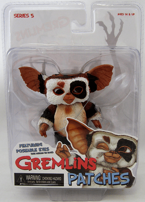 NECA Gremlins Patches with Poseable Eyes Figure