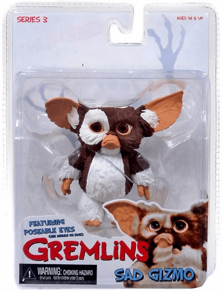 NECA Gremlins Sad Gizmo with Poseable Eyes Figure