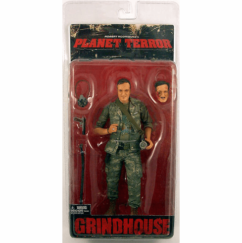 NECA Grindhouse Quentin Tarantino Action Figure