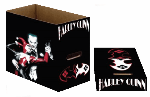 NECA Harley Quinn and Joker Short Storage Comic Box