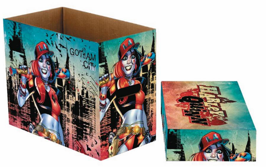 NECA Harley Quinn Gotham Short Storage Comic Box