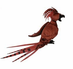 NECA Harry Potter Fawkes the Phoenix Plush