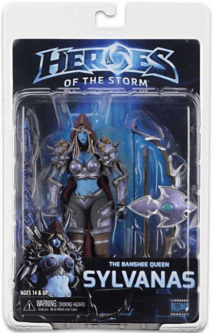 NECA Heroes of the Storm World of Warcraft Sylvanas Figure
