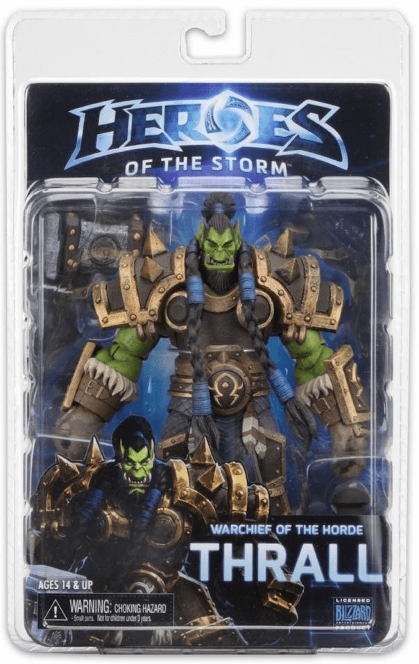 NECA Heroes of the Storm World of Warcraft Thrall Figure