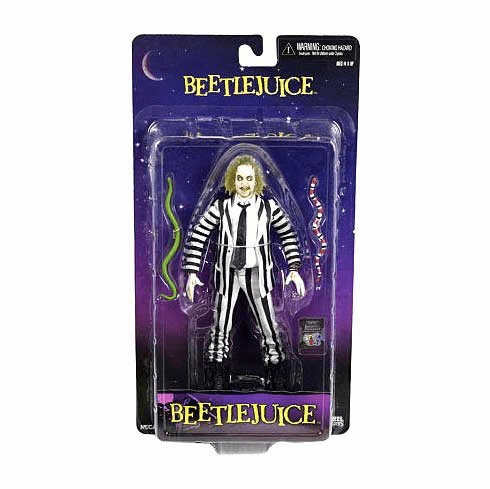 NECA Icon Series Beetlejuice Action Figure