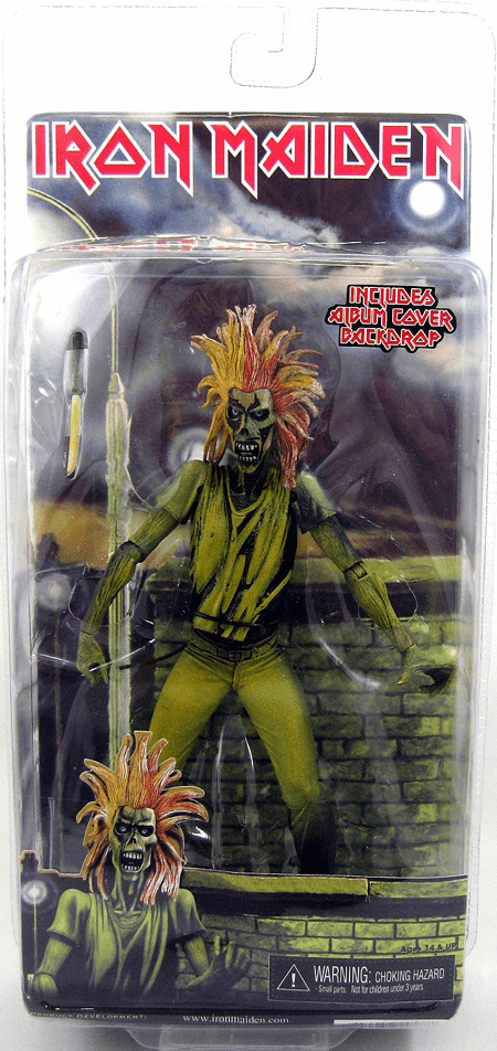 NECA Iron Maiden Debut Album Eddie Figure