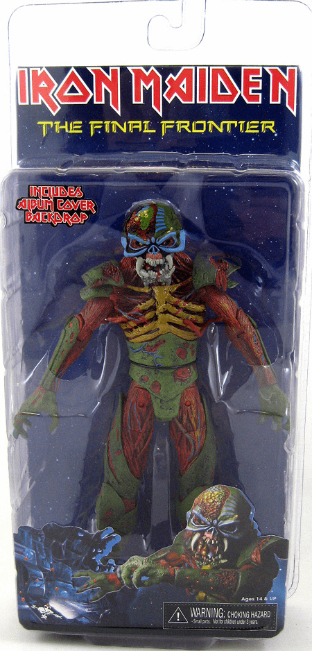 NECA Iron Maiden Final Frontier Eddie Figure
