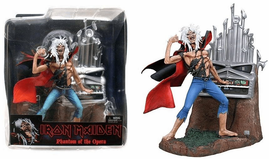 NECA Iron Maiden Phantom of the Opera Eddie Figure