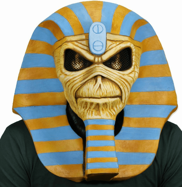 NECA Iron Maiden Powerslave Eddie Latex Mask