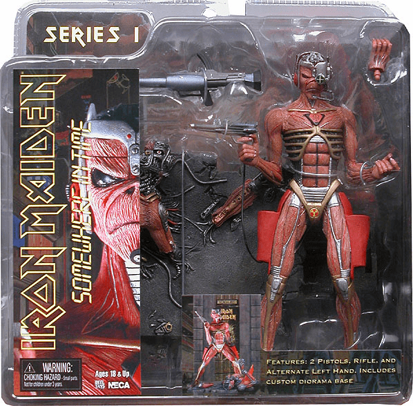 NECA Iron Maiden Somewhere in Time Eddie Figure