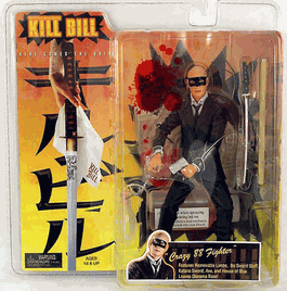 NECA Kill Bill Crazy 88 Bald Action Figure
