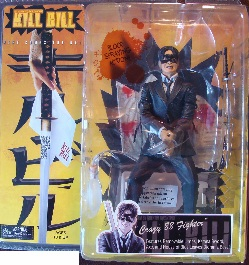 NECA Kill Bill Crazy 88 No Beard Action Figure