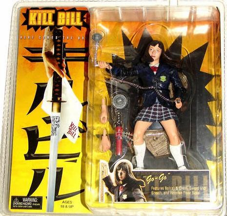 NECA Kill Bill Go-Go Yubari Action Figure