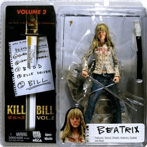 NECA Kill Bill Volume 2 Beatrix Action Figure