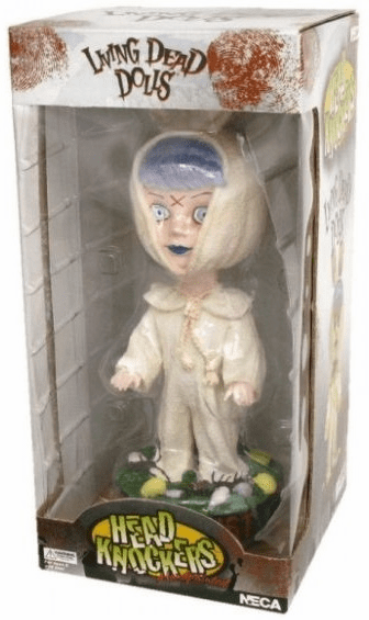 NECA Living Dead Dolls Eggzorcist Head Knocker