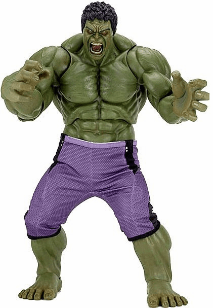 NECA Marvel Avengers Age of Ultron Quarter Scale Hulk Figure