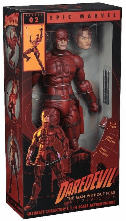 NECA Marvel Daredevil Quarter Scale Figure