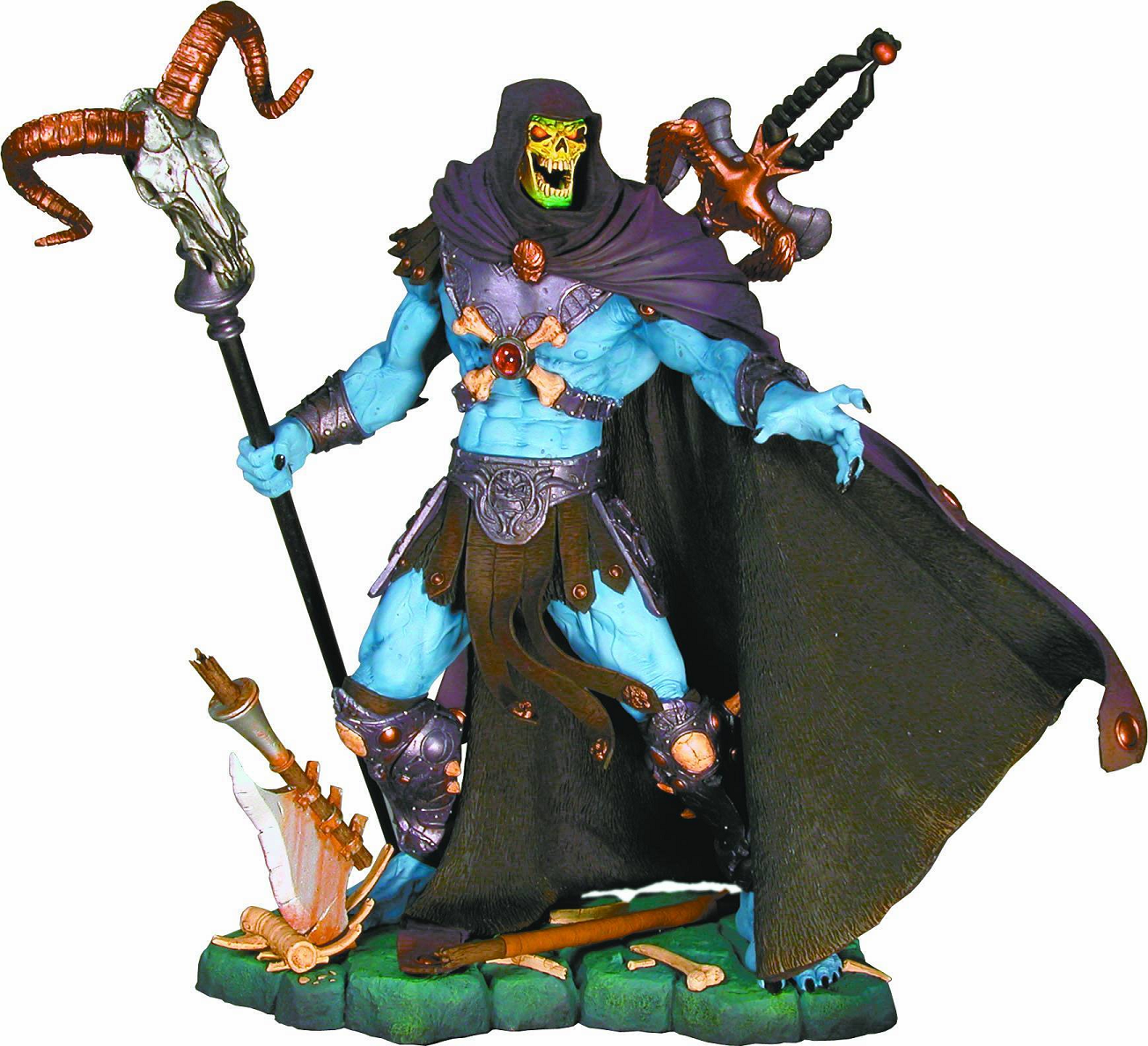 NECA Masters of the Universe Skeletor Resin Statue