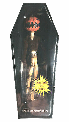 NECA Nightmare Before Christmas Pumpkin Jack Porcelain Doll
