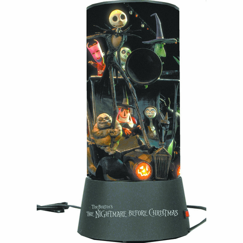 NECA Nightmare Before Christmas Rotating Light Cylinder