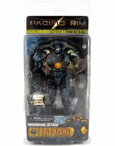 NECA Pacific Rim Anchorage Attack Gipsy Danger Jaeger Figure