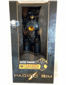 "NECA Pacific Rim Battle Damaged Gipsy Danger 18"" Figure"