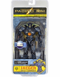 NECA Pacific Rim Battle Damaged Gipsy Danger Jaeger Figure