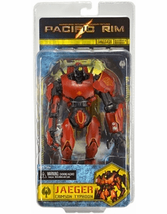 NECA Pacific Rim Crimson Typhoon Jaeger Figure
