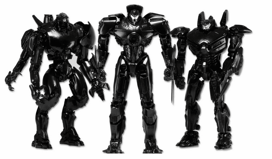 NECA Pacific Rim SDCC Exclusive End Titles Jaeger 3-Pack Figure Set