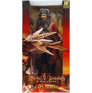 NECA Pirates of the Caribbean At World's End Captain Teague Motion Activated Figure
