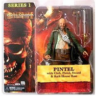 NECA Pirates of the Caribbean At World's End Pintel Figure