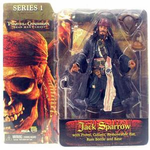 NECA Pirates of the Caribbean Dead Man's Chest Jack Sparrow Figure