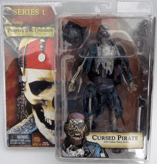 NECA Pirates of the Caribbean Series 1 Cursed Pirate Figure