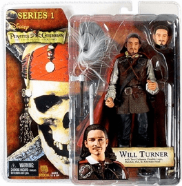 NECA Pirates of the Caribbean Series 1 Will Turner Action Figure