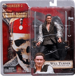 NECA Pirates of the Caribbean Series 2 Will Turner Action Figure