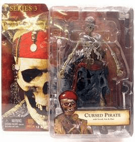 NECA Pirates of the Caribbean Series 3 Cursed Pirate Action Figure
