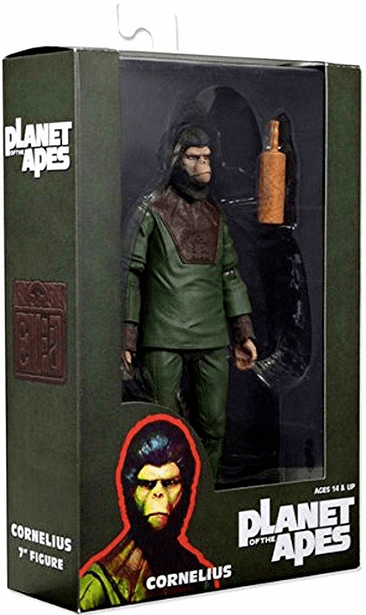 NECA Planet of the Apes Classic Cornelius Figure