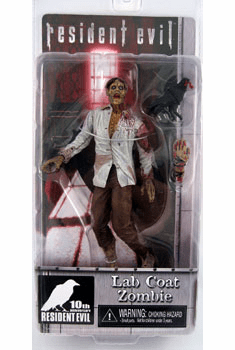 NECA Resident Evil 10th Anniversary Lab Coat Zombie Figure