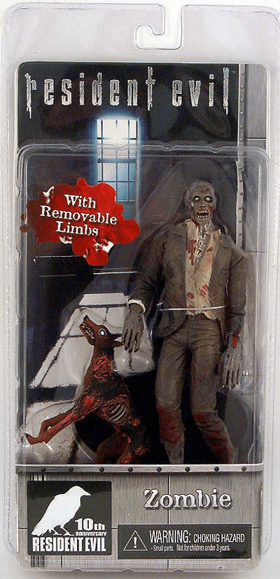 NECA Resident Evil 10th Anniversary Zombie Action Figure