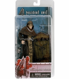 NECA Resident Evil 4 Los Illuminados Monks with Shield Figure