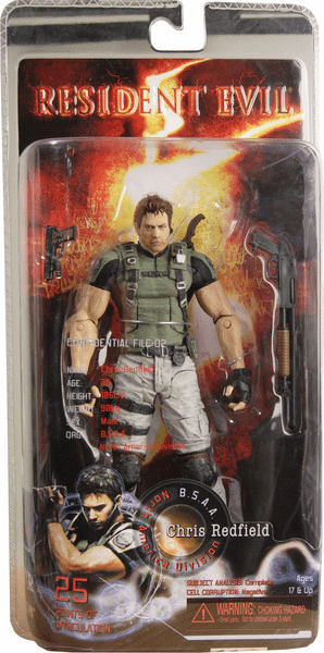 NECA Resident Evil 5 Chris Redfield Action Figure