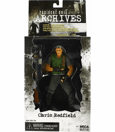 NECA Resident Evil Archives Chris Redfield Action Figure
