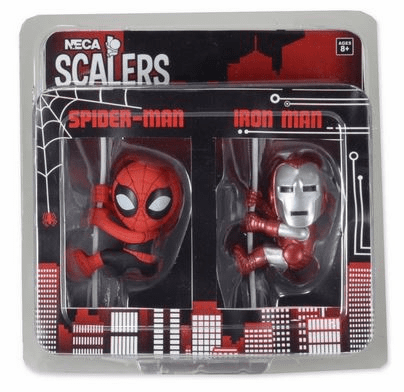 NECA San Diego Comic Con Spider-Man & Iron Man Scalers 2-Pack