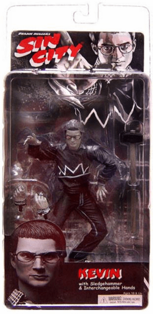 NECA Sin City Black & White Kevin Action Figure