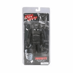 NECA Sin City Black & White Manute Action Figure